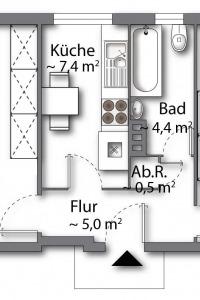 Wohnung vom Typ 2